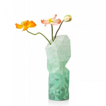 Pepe Heykoop - Paper Vase cover Green Gradient